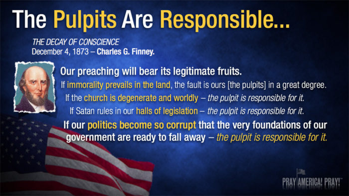 to convict all  who are ungodly among them -Pulpits are responsible Charles Finney